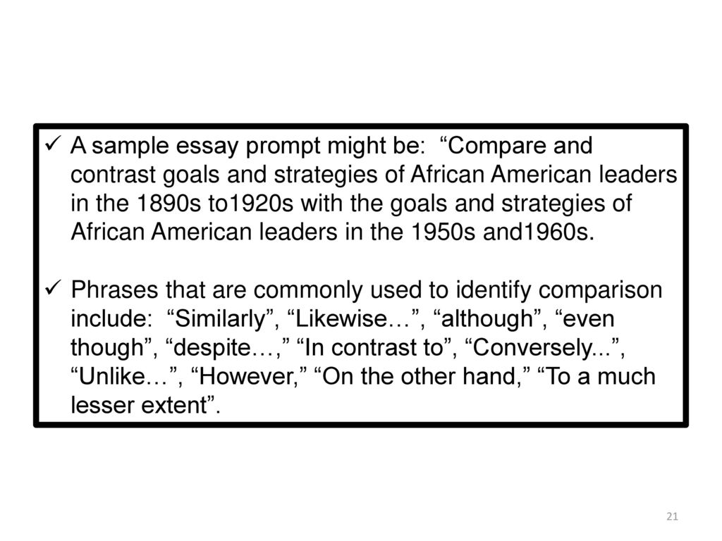compare and contrast african american native View notes - compare and contrast the treatment of native americans and african americans in this period from history 101 at university of alabama them treated like property they were viewed as.