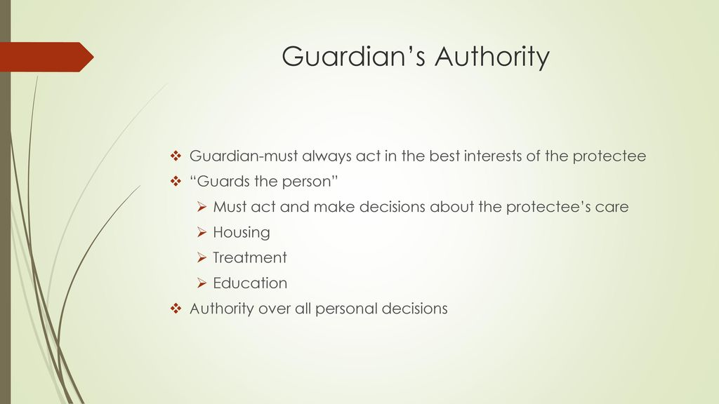 court application for appointment of guardian of property