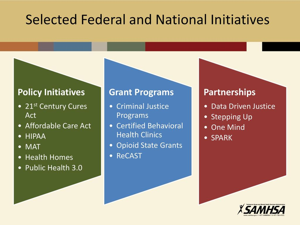 Revisiting million dollar murray a better plan ppt video 10 selected federal and national initiatives policy initiatives 21st century cures act affordable care 1betcityfo Image collections
