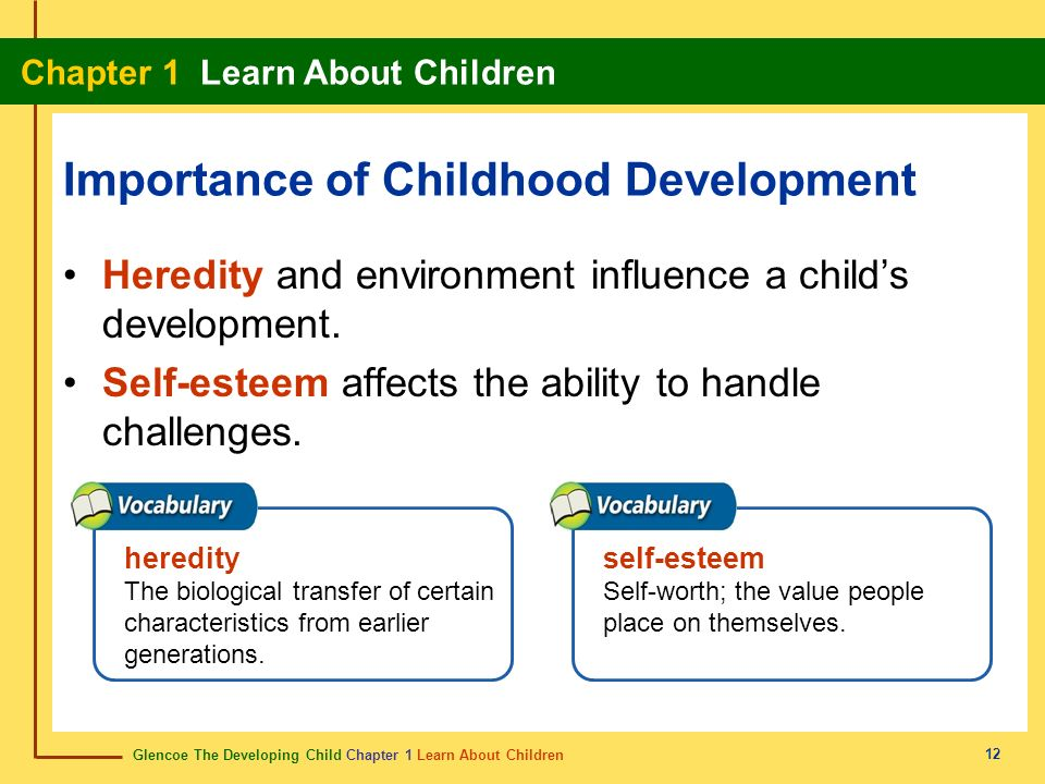 Importance of Childhood Development