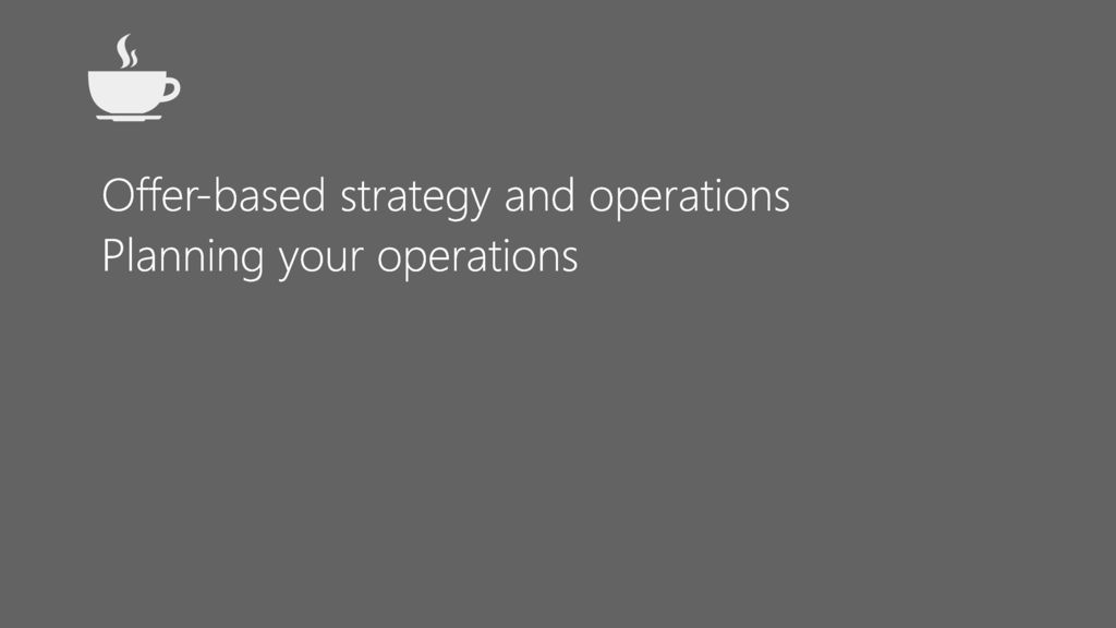 operations based strategy Careers in business strategy and operations  bid manager italy - rome based  milan  sr program manager, vmware cloud on aws customer operations.