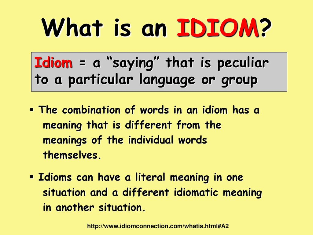 out understanding idioms inside ppt video online  4 idiom