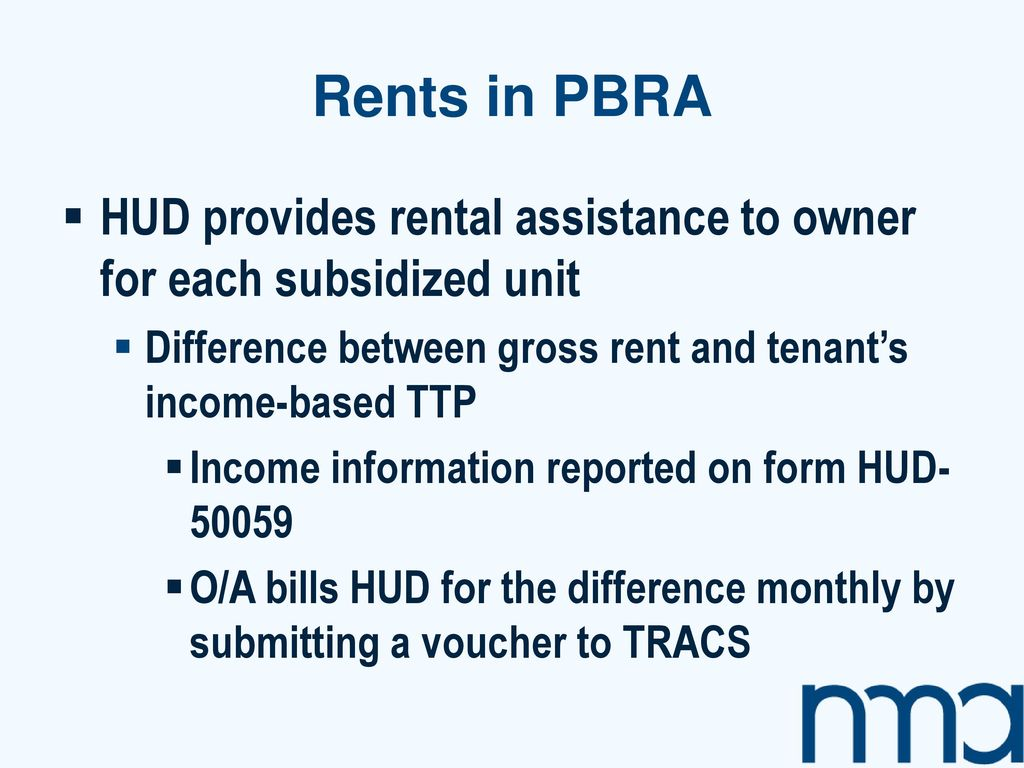 rents in pbra hud provides rental assistance to owner for each subsidized unit difference between - Rental Assistance Form