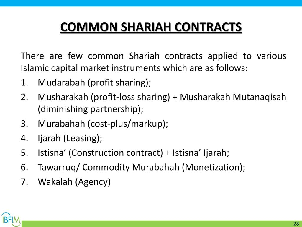 Modern islamic law economics islamic charity initiation for Cost plus building contract