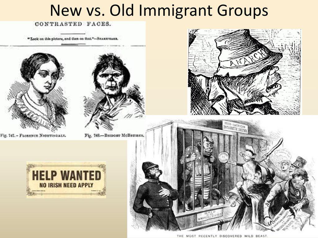 old immigrants vs new immigrants essay