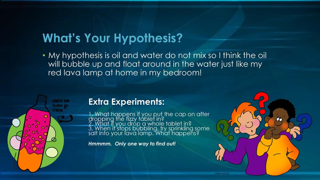 Whatu0027s Your Hypothesis