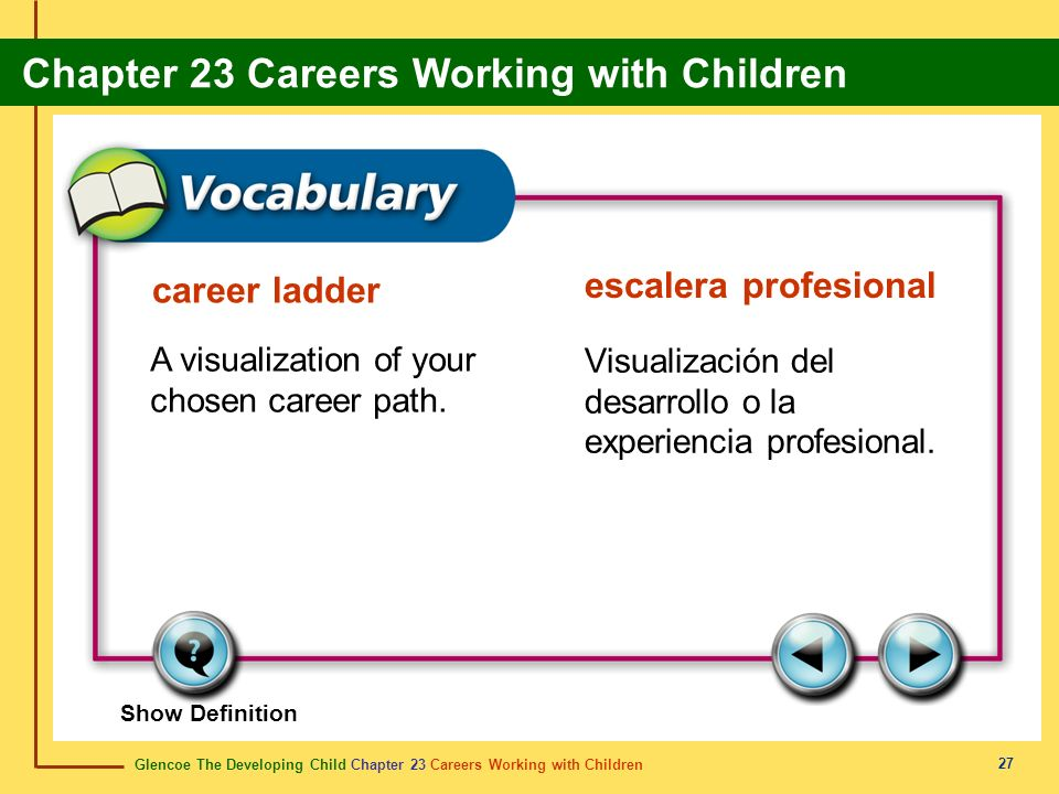 escalera profesional career ladder