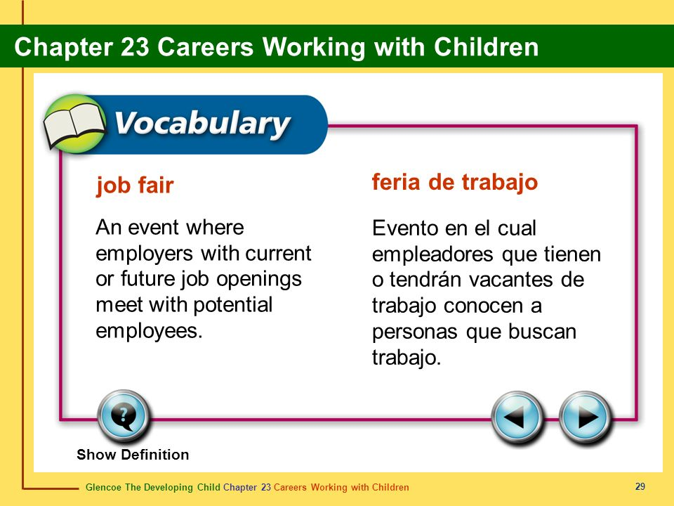 feria de trabajo job fair
