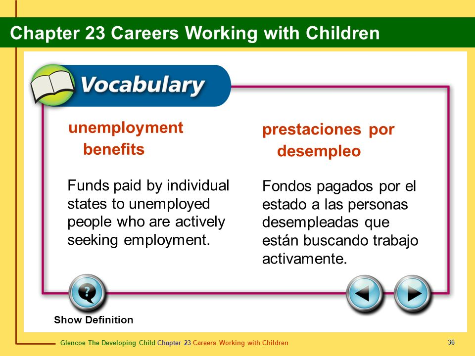 unemployment benefits prestaciones por desempleo
