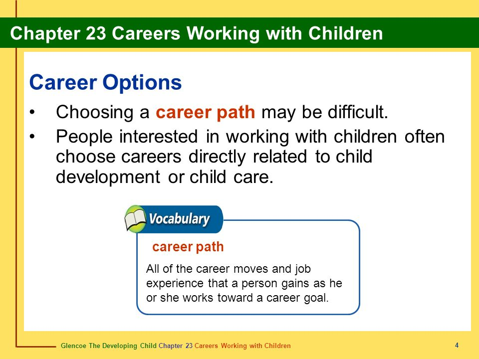 Career Options Choosing a career path may be difficult.