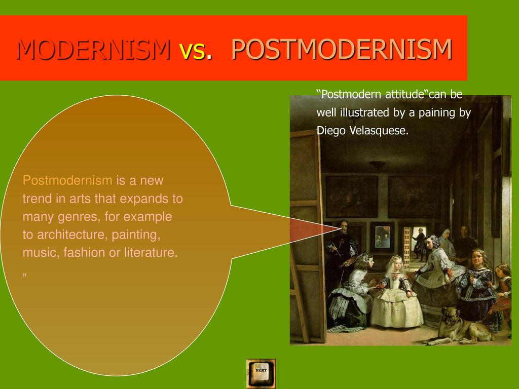 modern vs postmodern architecture essay Let us write you a custom essay sample on post modern architecture vs international style modernism.