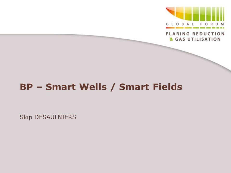 BP – Smart Wells / Smart Fields