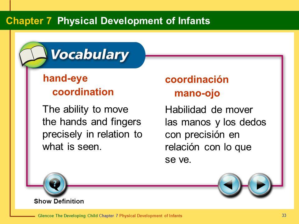 hand-eye coordination coordinación mano-ojo