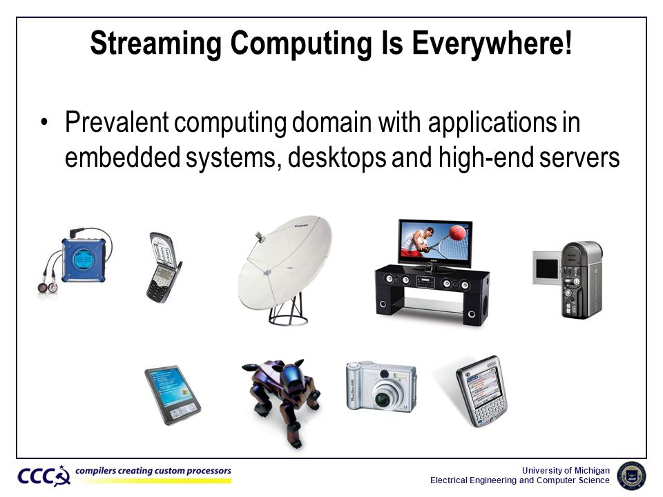 Streaming Computing Is Everywhere!