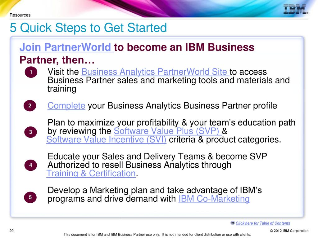 Ibm software business partner guide ppt download 5 quick steps to get started 1betcityfo Gallery