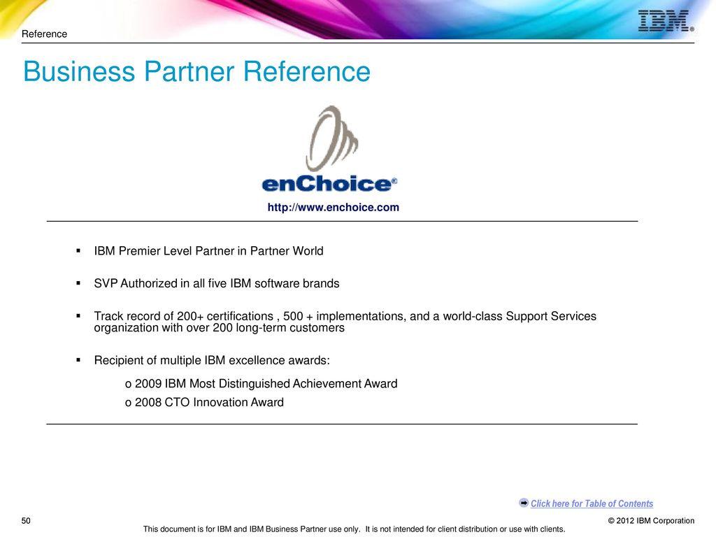 Ibm software business partner guide ppt download business partner reference 1betcityfo Gallery