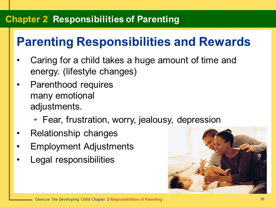 Parenting Responsibilities and Rewards