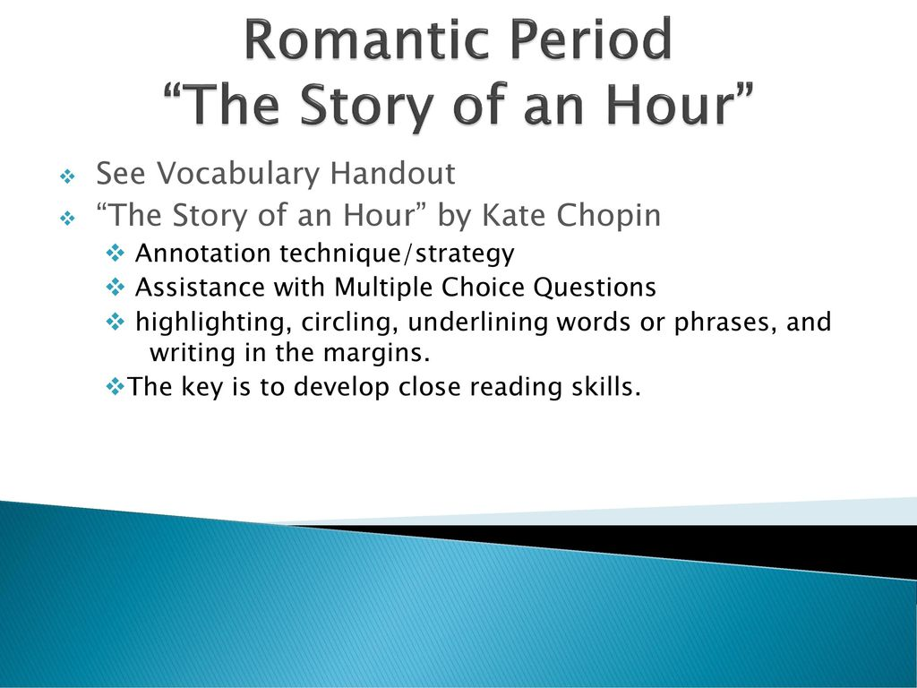 an analysis of the story of an hour by kaate chopin Kate chopin's the story of an hour: dead end marriage 385 words 1 page the exodus of louise mallard in the story of an hour by kate chopin 1,059 words  a literary analysis of the story of an hour by kate chopin 263 words 1 page an analysis of kate chopin's the story of an hour 494 words.