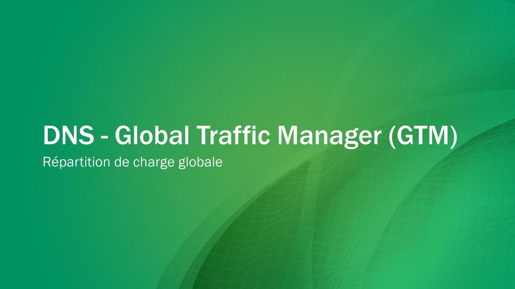 how to choose global traffic manager