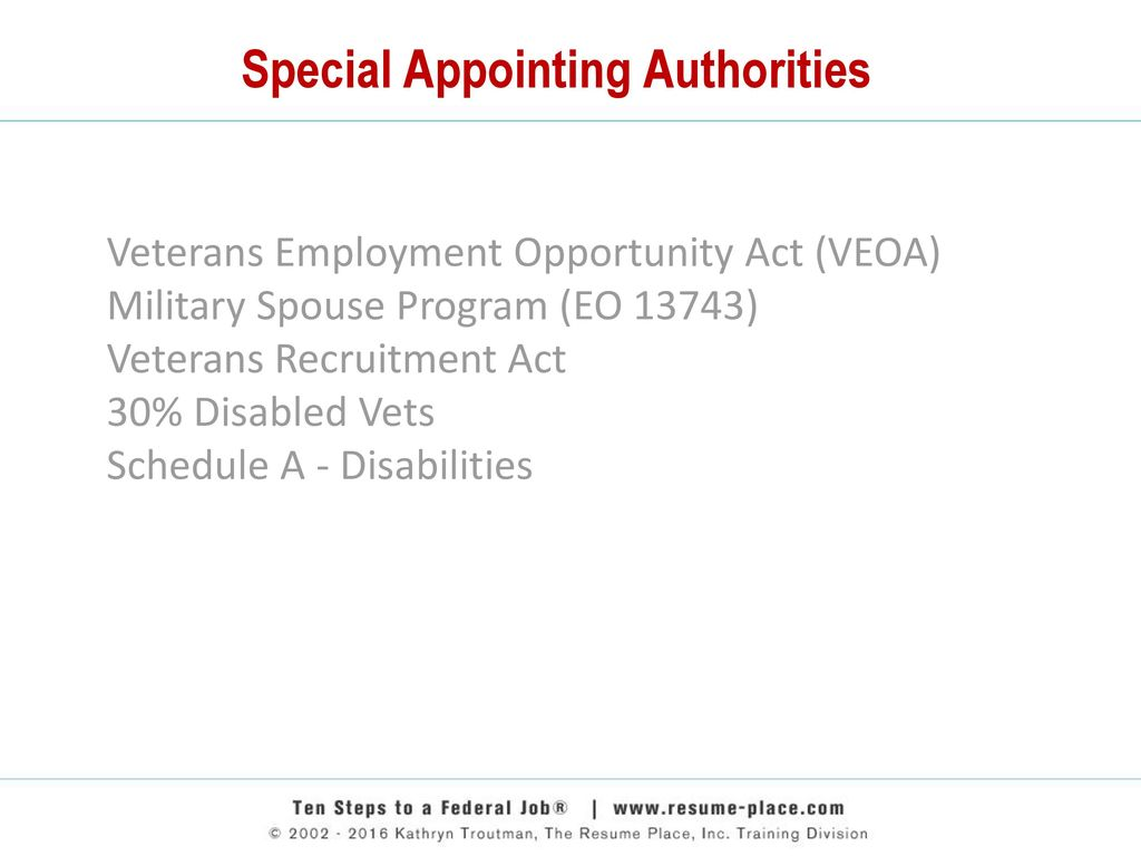 Employment Opportunity Act Veoa