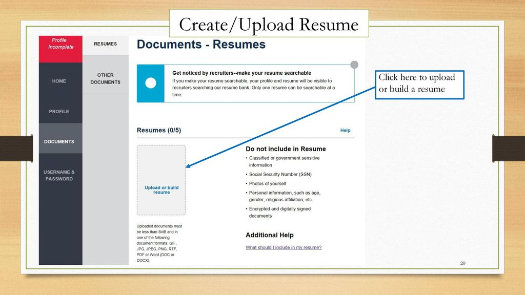How to Navigate USA JOBS ~Job Searches ppt video online download