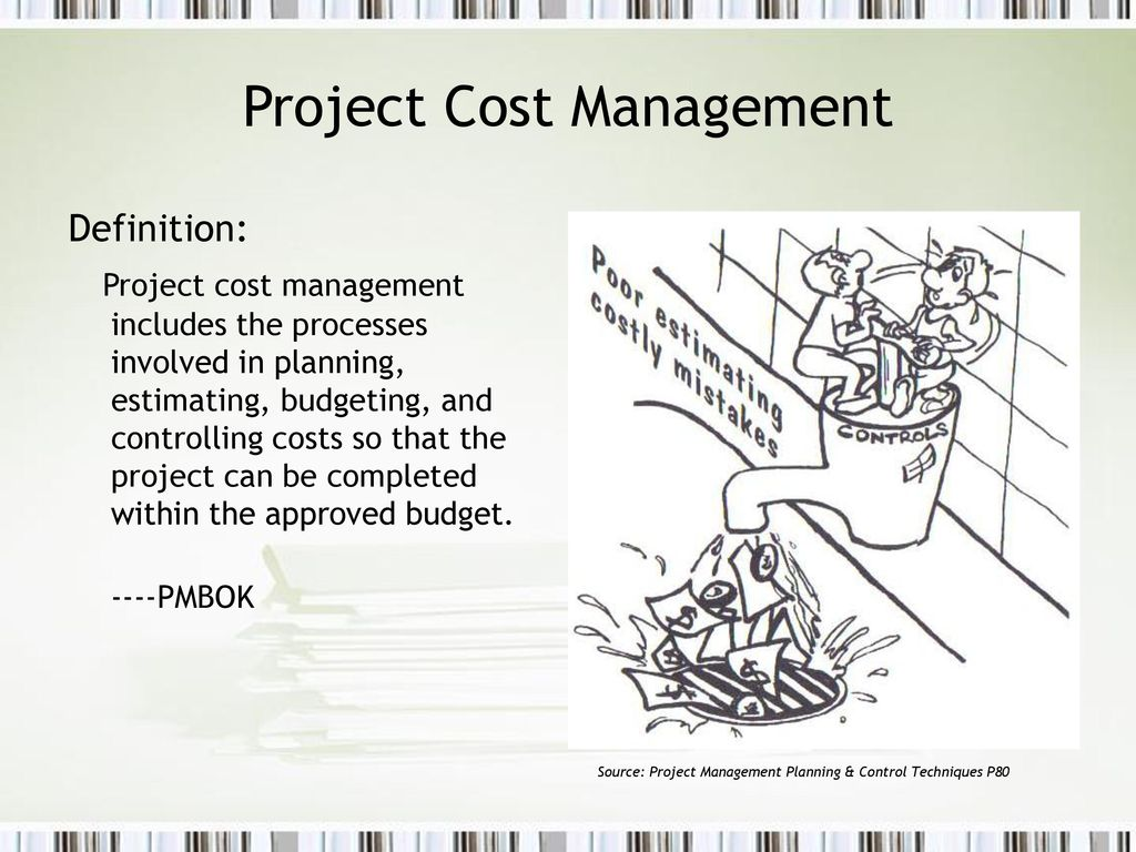 project planning management and control Learn more than 50 project management tools and techniques that  planning the timing and sequence of project activities  scope control .