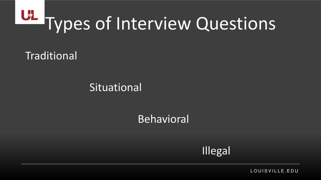 Types Of Interview Questions