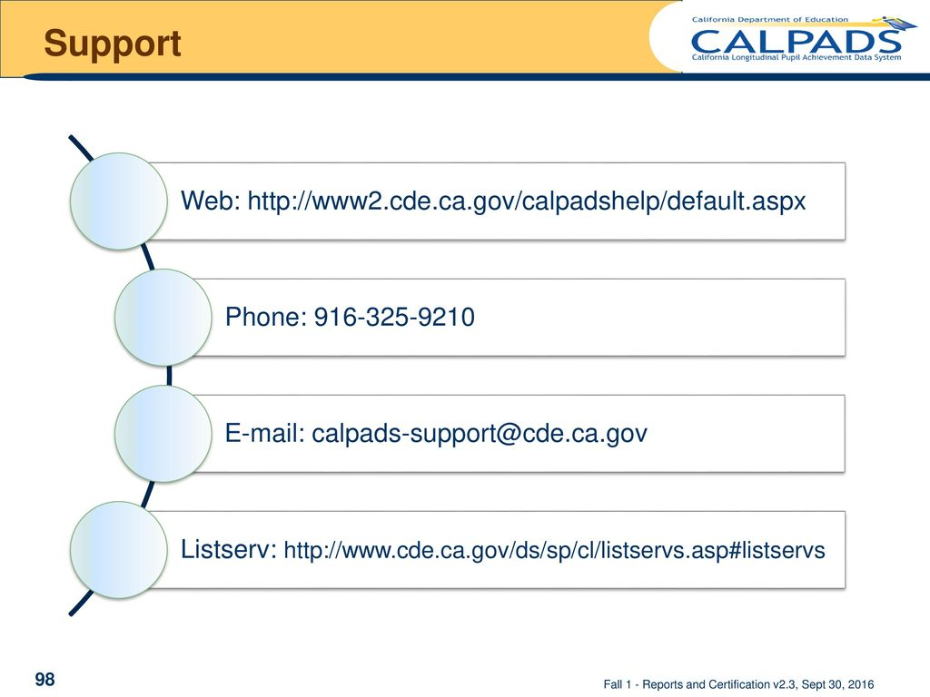 Reports and certification ppt download support web httpwww2ecalpadshelp xflitez Images