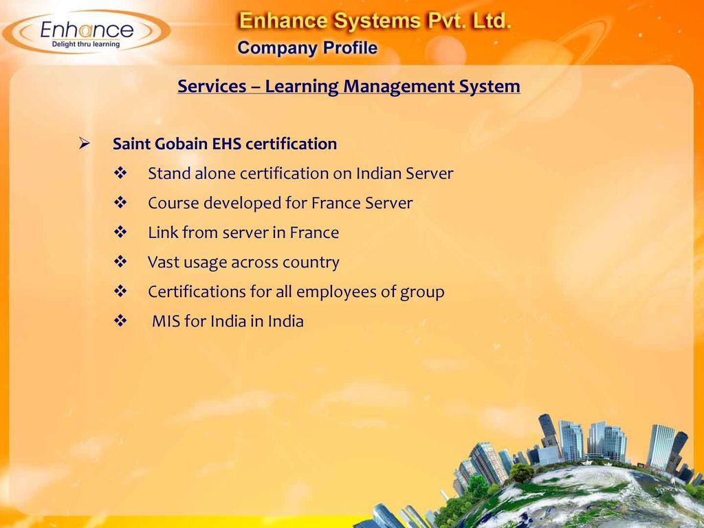 E learning e learning components of elearning from enhance 97 services learning management system saint gobain ehs certification 1betcityfo Image collections