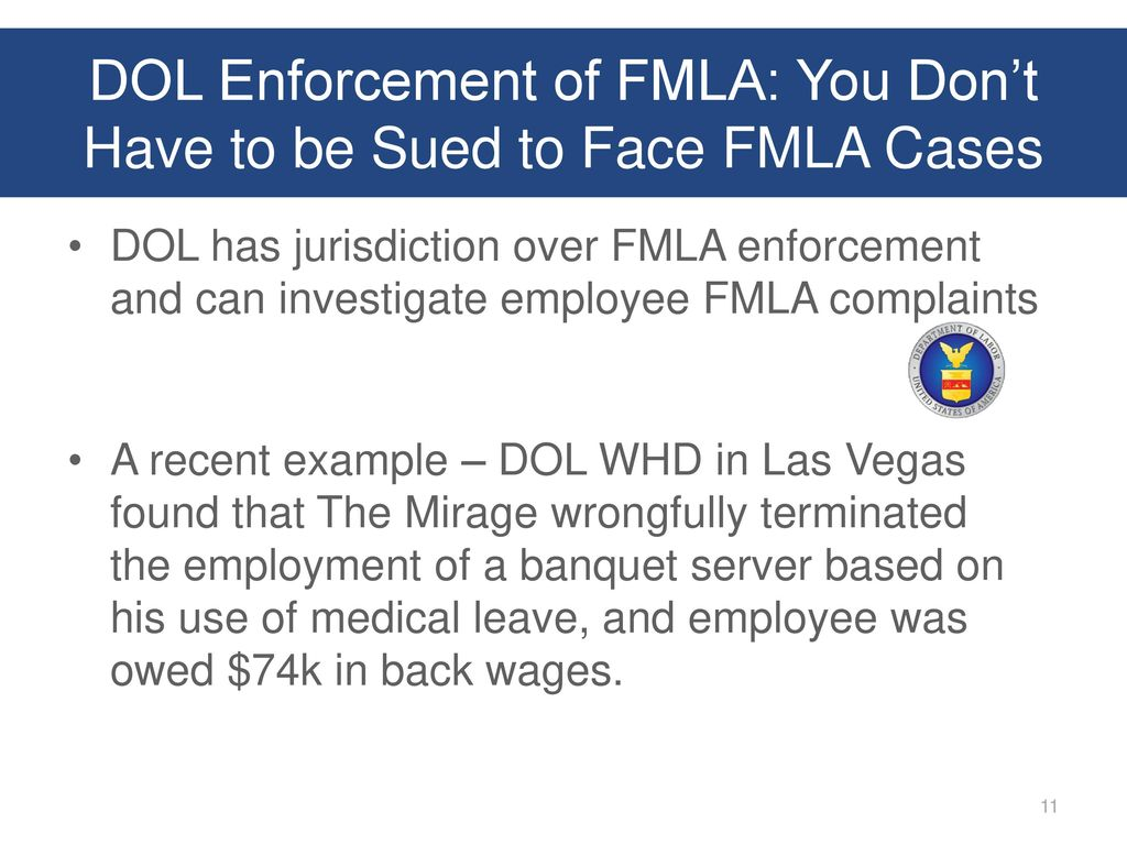 Presented by josh waltman ppt download 11 dol enforcement of fmla you falaconquin