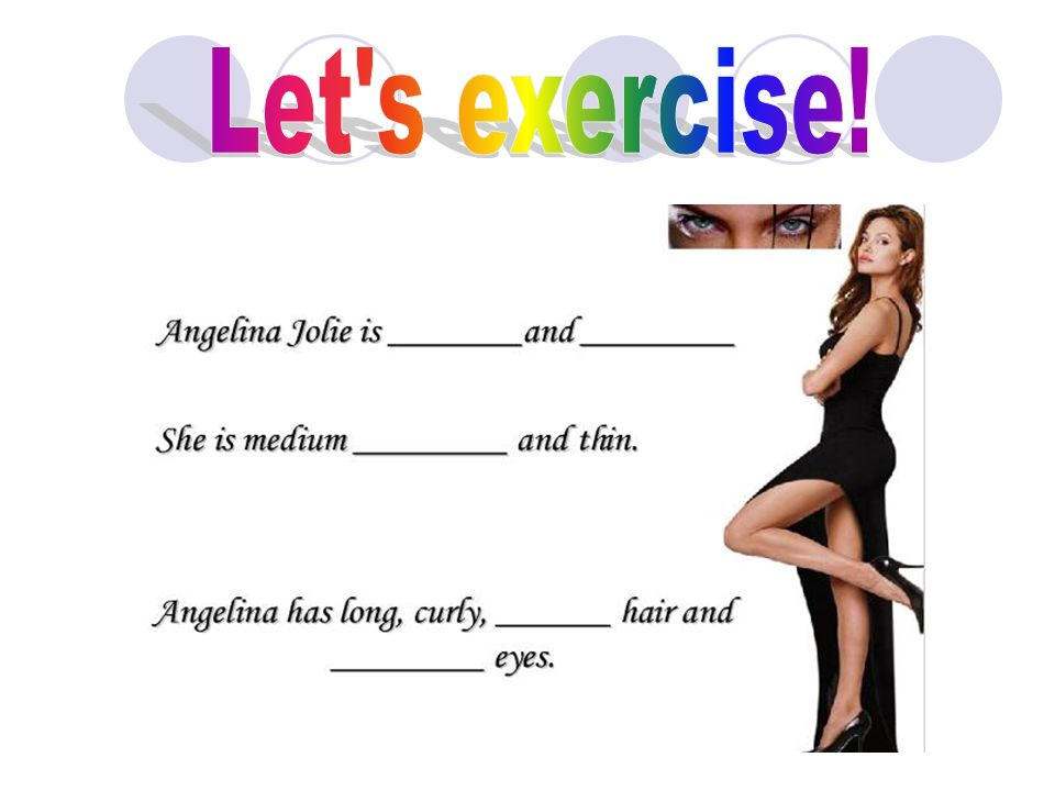 Let s exercise!