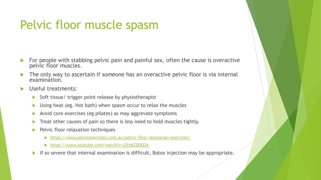 the pelvic floor why is it so important ppt download With pelvic floor muscle spasms