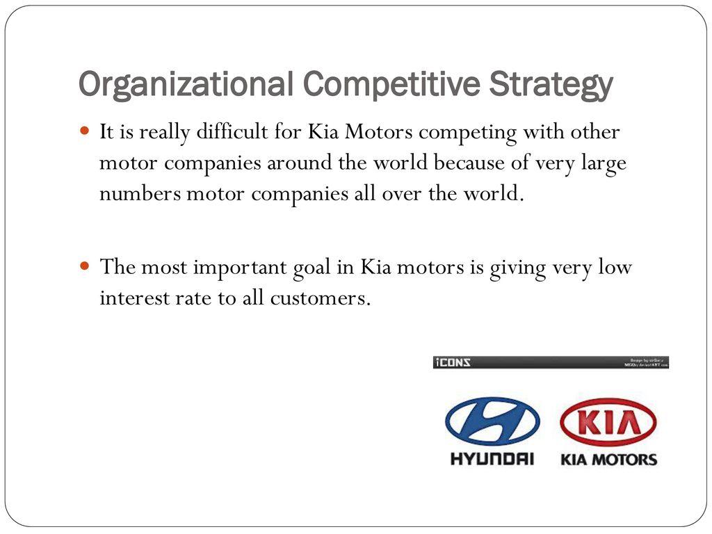 Kia motors final project ppt video online download for Kia motors finance rates