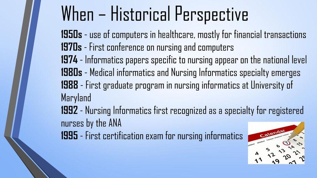 Nursing Informatics Utilizing Information Technology To