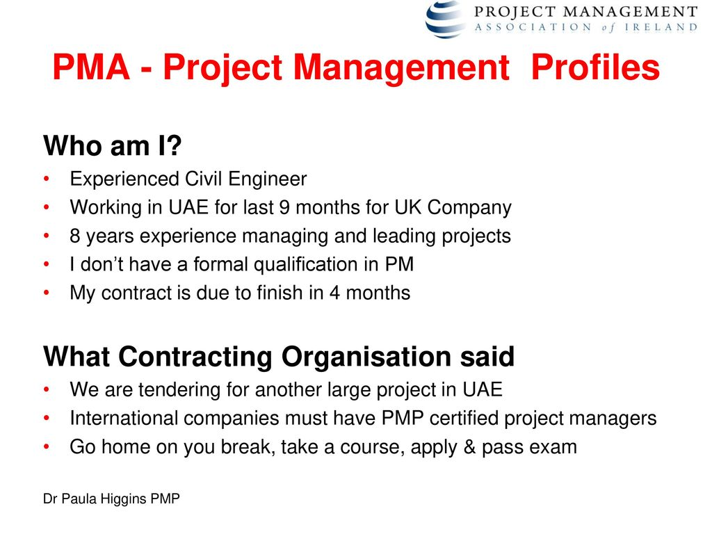 The project management skills shortage ppt download pma project management profiles xflitez Image collections