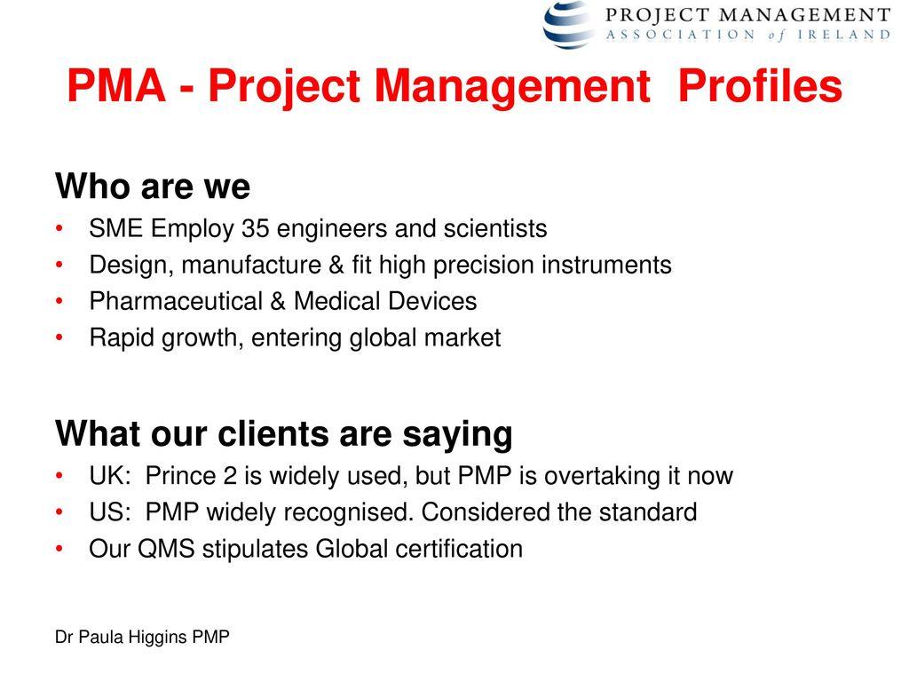 The project management skills shortage ppt download pma project management profiles xflitez Choice Image