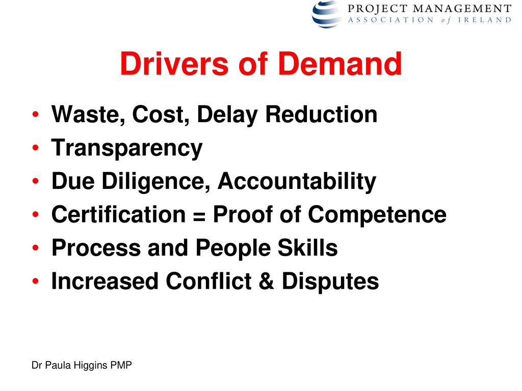 The project management skills shortage ppt download drivers of demand waste cost delay reduction transparency xflitez Gallery