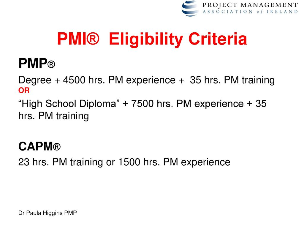 The project management skills shortage ppt download 50 pmi eligibility criteria 1betcityfo Image collections
