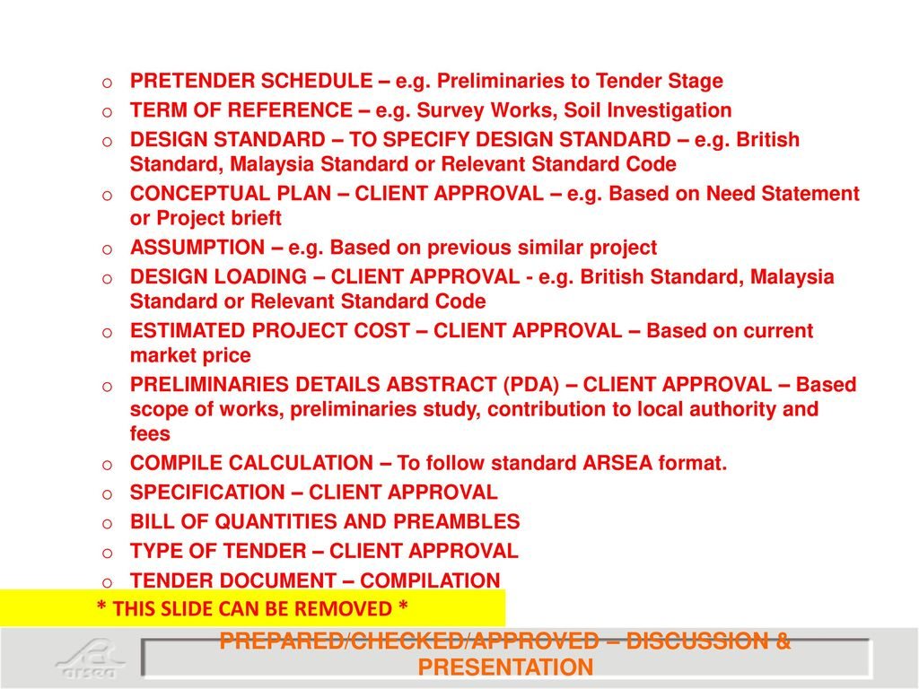 Standard operating procedure pre tender ppt download 61 pronofoot35fo Choice Image