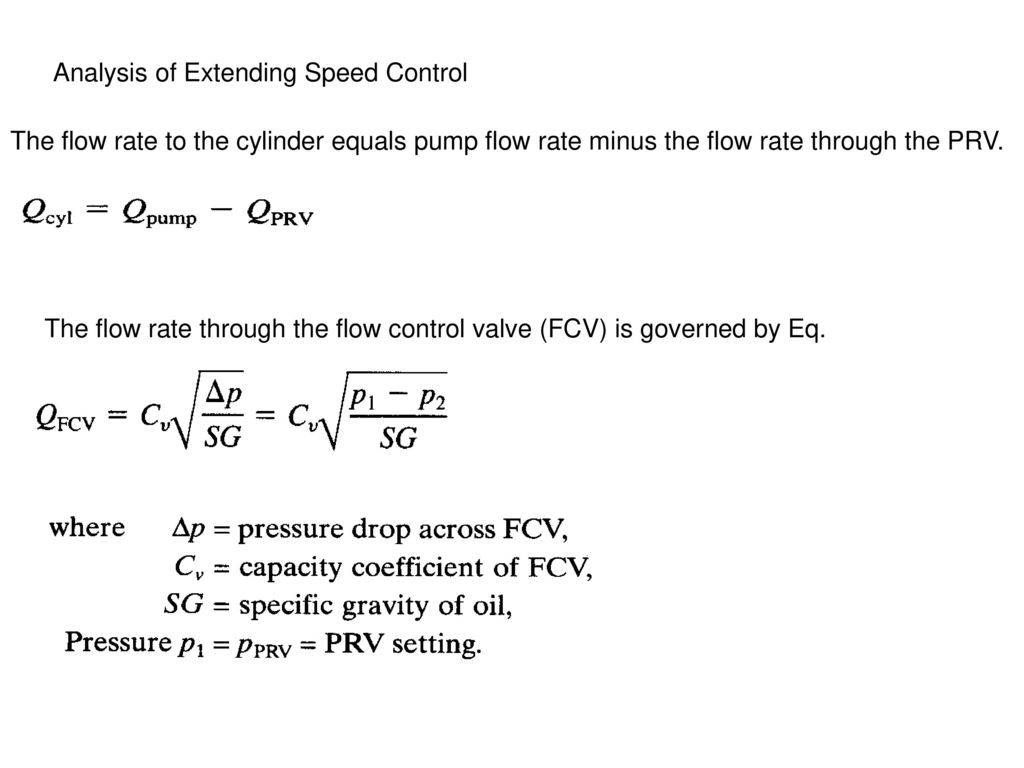 Hydraulic circuit and analyses ppt video online download analysis of extending speed control buycottarizona