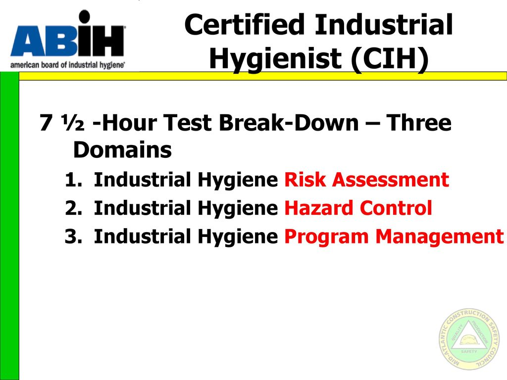 Career paths for the safety professional ppt video online download 33 certified industrial 1betcityfo Choice Image