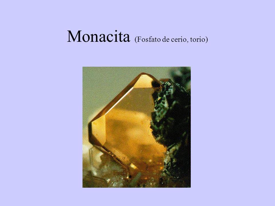 Monacita (Fosfato de cerio, torio)