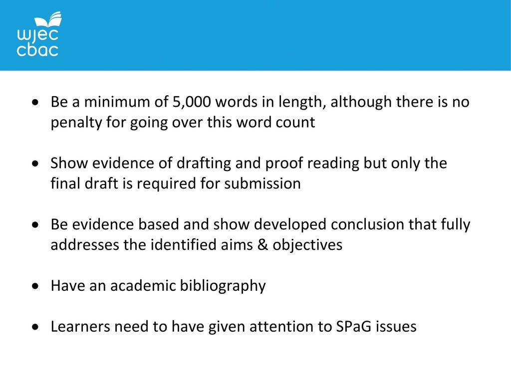 Dissertation word count penalties