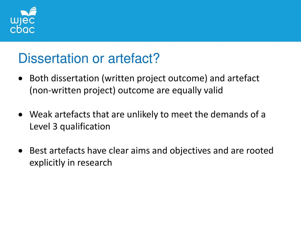 dissertation or project There are alternatives to writing a dissertation one of these is a project study, or an applied study most students in advanced studies have a general idea of what a dissertation is, but fewer people know what a project study is it is good to know the difference between a dissertation and a.