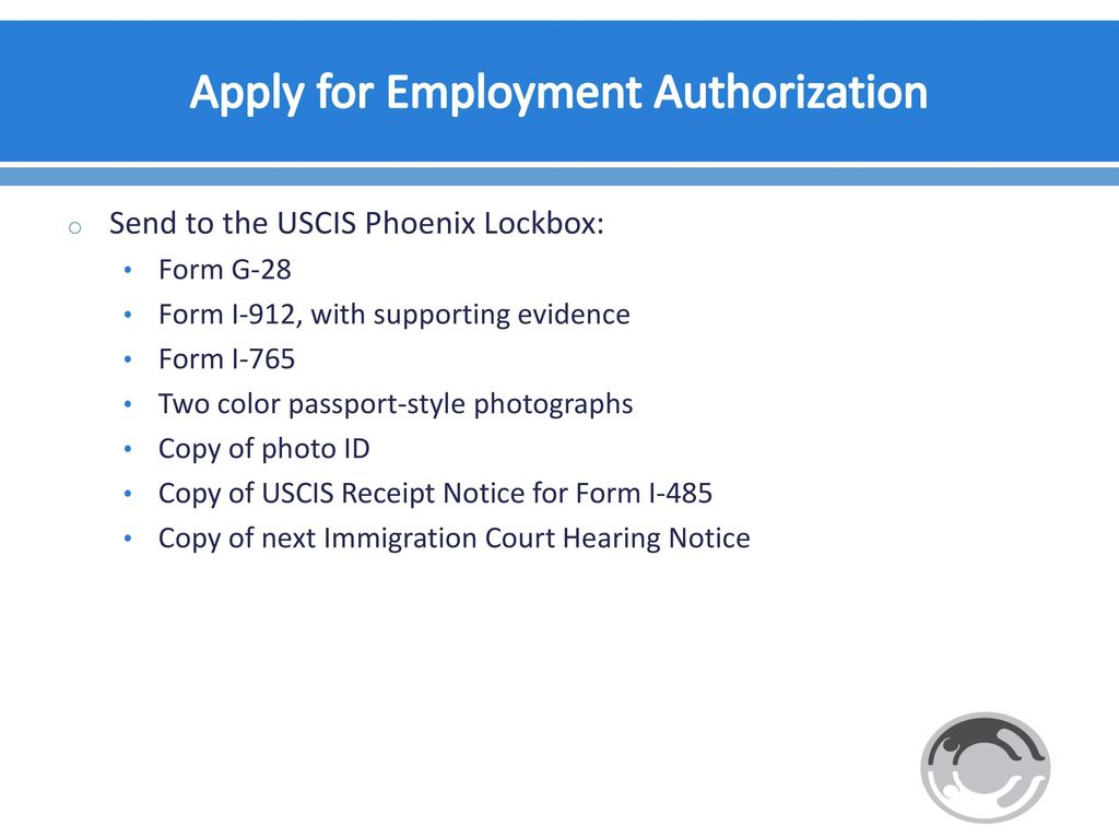 Representing unaccompanied children special immigrant juvenile 57 apply for employment authorization falaconquin
