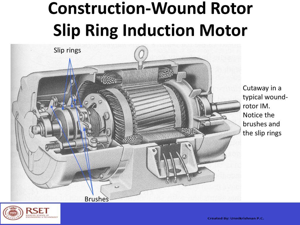 Slip Ring Motor Construction