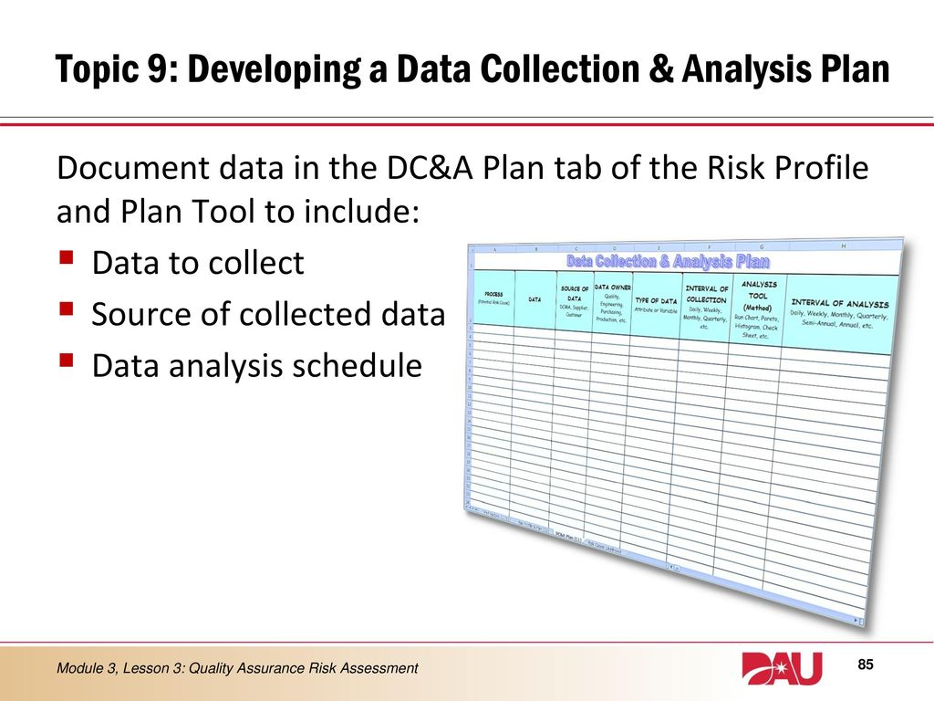 data analysis plan How can the answer be improved.