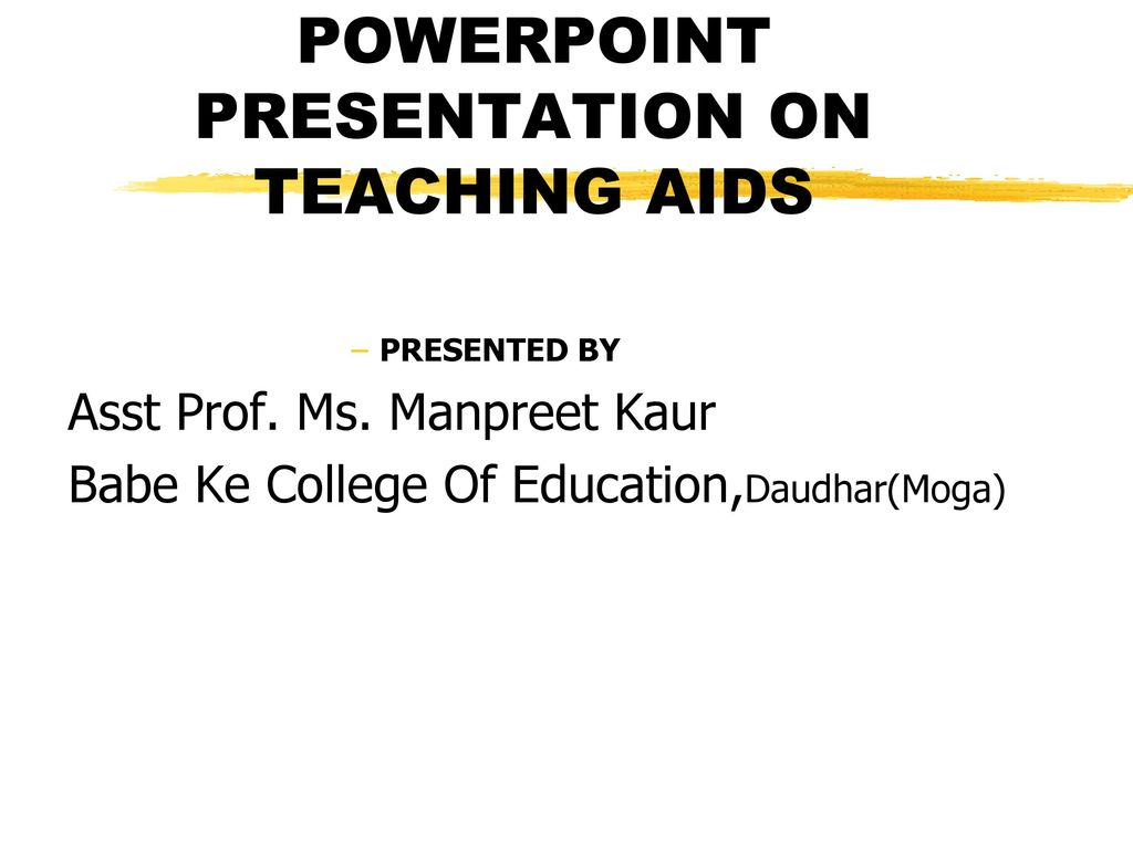 powerpoint presentation on teaching aids - ppt download, Powerpoint templates