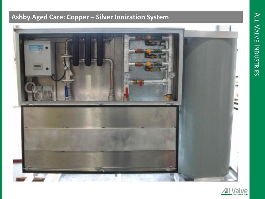Presented by brett hayhow ppt video online download for Copper silver ionization system swimming pool