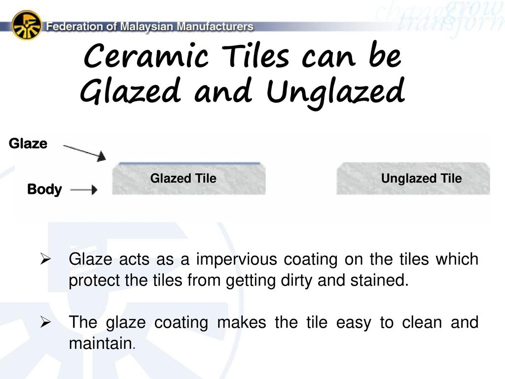 how to clean unglazed ceramic tile